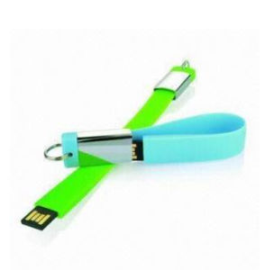 Silicone Bracelet Gadget USB Flash Drive 16GB Pendrive pictures & photos
