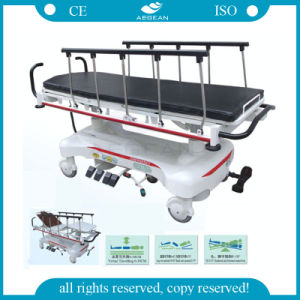 AG-HS007 Hospital Hydraulic Stainless Steel ISO&Ce Stretcher Trolley pictures & photos