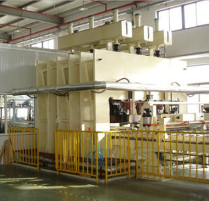 Wood Based Particle Board of Lamination Hot Press Line with Alternatives Raw Material and Vegetable Waste pictures & photos
