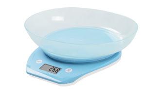 Transparent Bowl Electronic Kitchen Scale (BK716) pictures & photos
