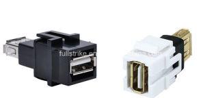 USB a Female to a Female Keystone
