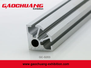 1/4 Round Extrusion for Exhibition Kiosk Booth Display Stand (GC-S203) pictures & photos