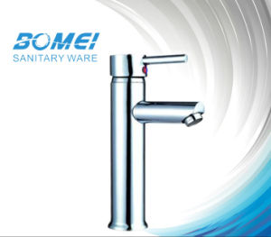 Economic Single Handle Basin Faucet for Hotel pictures & photos