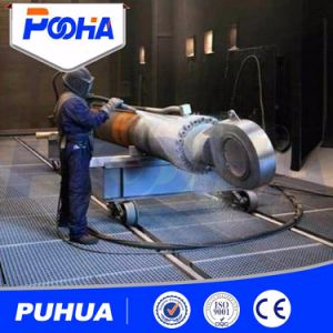 Automatic Recover Small Sand Blasting Chamber pictures & photos