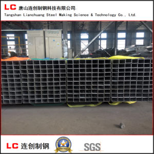 Black Hollow Section Tube for Structure Building with High Quality pictures & photos