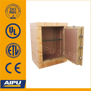 Wooden Finish Luxury Fire Proof Safe with Electronic Lock (672 X 518 X 403mm) pictures & photos
