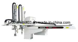 Economic AC Servo Driven Traversing Robot, Sprue Picker Robotic Arm, Plastic Injection Molding Robot (BRA700WDY)