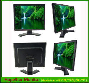 19 Inch LCD CCTV Monitor with VGA and HDMI Input pictures & photos