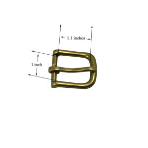 Metal Belt Buckles Manufacturer Custom Pin Buckles (inner size: 1inch) pictures & photos
