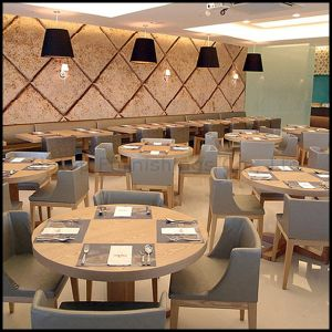 (SP-CS105) Hotel Restaurant Furniture Set Wood Restaurant Table and Chair pictures & photos