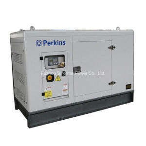 80kw / 100kVA Soundproof Diesel Generator with Perkins engine