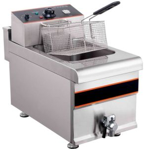 Electric Deep Fryer (1-Tank, 1-Basket) pictures & photos