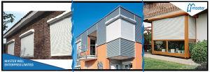 Aluminum/Steel Windows Electric Interior Rolling/Roller Door Shutter /Horizontal Roller/Rolling Shutter pictures & photos