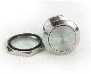 Stainless Steel Pushbutton Switch Ring Illuminated Metal Push Button pictures & photos