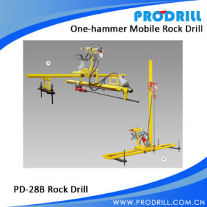 Pneumatic Mobile Rock Drill for Vertical and Horizontal Drilling pictures & photos