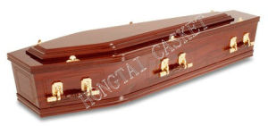 Wooden Casket and Coffin for The Funeral Products (HT-0803)