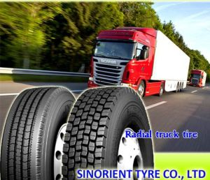Cheap New TBR Radial Truck Tire with Label & Smartway pictures & photos