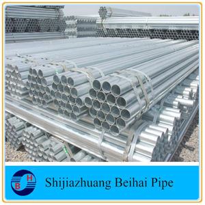 ERW Galvanized Pipe/ Hot DIP Galvanized Steel Pipe (gi pipe) pictures & photos