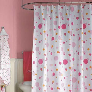 100% Bright Color Polyester Shower Curtain pictures & photos