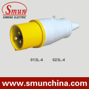110V 16A/32A 3pin Industrial Plug Yellow IP44 2p+E pictures & photos