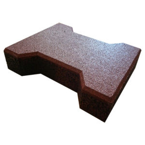 Outdoor Walkway/Sport Rubber Tile/Rubber Brick/Rubber Flooring pictures & photos