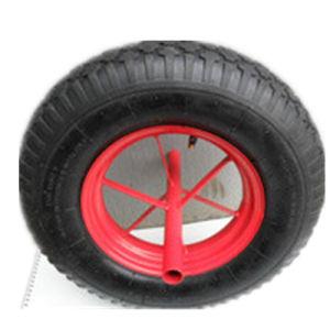 4.80/4.00-8 Pneumatic Barrow Wheels with Steel Rim & Diamond Pattern (cheaper price)