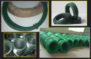 PVC Coated Electro Galvanized Iron Wire in Different Color pictures & photos