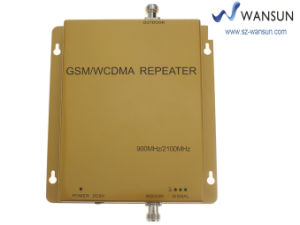 Wansuntone 17c29 Cell Phone Signal Booster Repeater 900/2100MHz GSM/WCDMA Mobile Amplifier