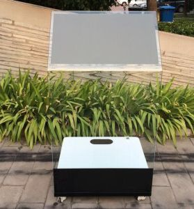 30 Inch Interactive Holo Projection Transparent Touch Kiosk pictures & photos
