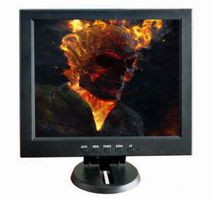 Multi-Functional 12 Inch TFT LCD Monitor with CE RoHS FCC pictures & photos