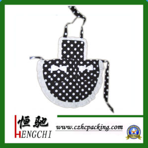 100% Cotton Apron/Kitchen Apron (HC0161) pictures & photos