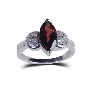 Fashion Jewelry Natural Stone Memorial Atmospheric Wedding Rings pictures & photos