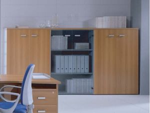 MFC Wooden Furniture Office Shelves Cabinets (DA-095)