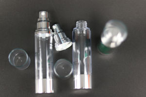 Transparent Color Airless Bottle with Good Quality (NAB26) pictures & photos