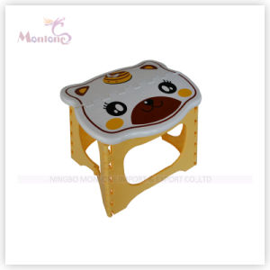 Plastic Cartoon Baby Foldable Stool pictures & photos