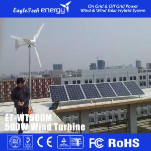 500W Wind Solar Turbine Wind Generator Household Wind Generator pictures & photos