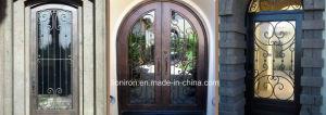 Security Custom Wrought Iron Door for Villa pictures & photos