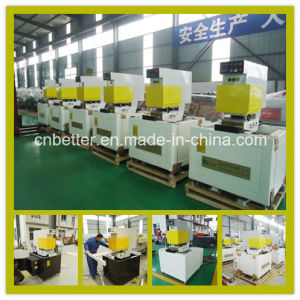 Color PVC Window Door Fabrication Machine Single Head Seamless Welding Machine pictures & photos