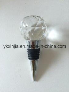 Kitchenware Crystal Glass Wine Stopper for Wedding Gifts pictures & photos