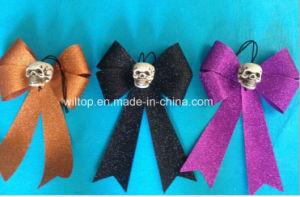Halloween Glitter Skull Bow Ties (WA002) pictures & photos