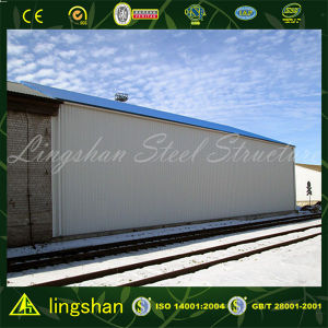 Lingshan Engineered Low Cost Prefab Steel Structure Building/Warehouse Construction pictures & photos