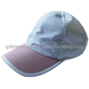 Popular Breathable Polyester Microfiber Fabric Sport Cap (TRRC001) pictures & photos