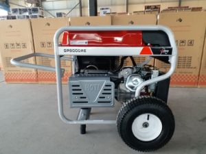 7.5kw Heavy Duty Remote Start Petrol Generator with 2X Large Pneumatic Wheels and Handle pictures & photos