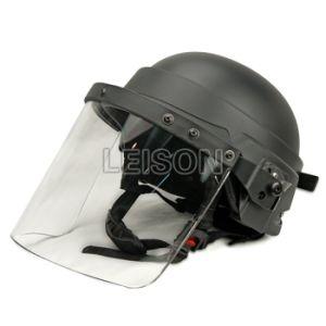 Kevlar Bulletproof Helmet with PC Veil pictures & photos