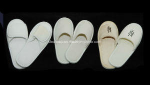 Light Colors Hotel Disposable Slippers (DCS-9102) pictures & photos