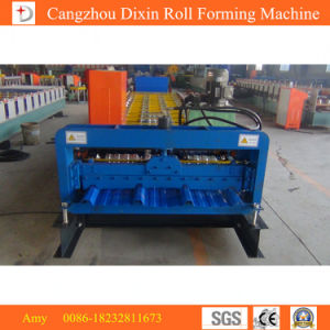 China Manufacturing Glazed Profiling Roll Forming Machine pictures & photos