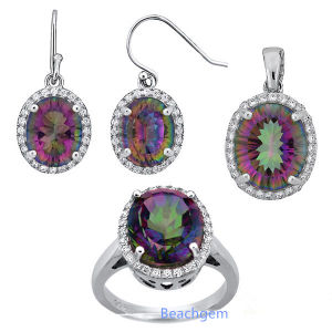 Fashion Mystic Quartz Jewellery Set (S5313) pictures & photos