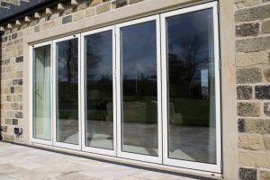 White Color Aluminum Glass Sliding Door (JBD-D3) pictures & photos