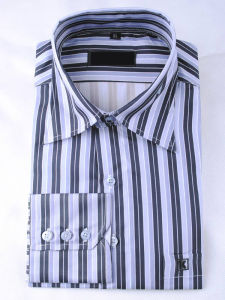 2016 Business Leisure Stripe Men Shirt (1837)