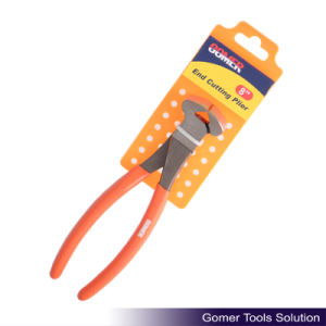 Carbon Steel Dipped Handle America Type End Cutting Plier (T03331)